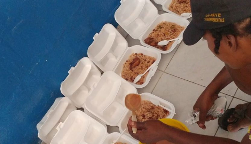 Feeding Prisoners a Hot Meal