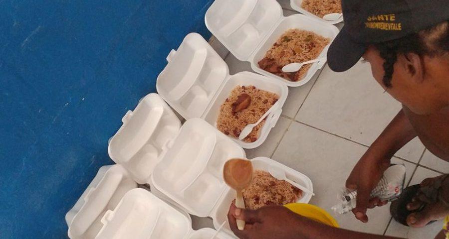 Feeding Prisoners a Hot Meal