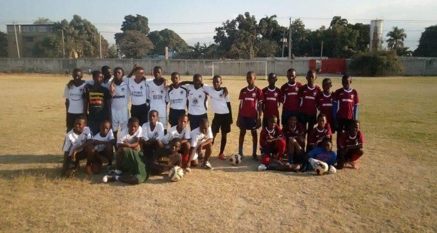 Pelham Soccer Uniforms in Haiti!