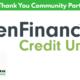 Thank You to Renouveau Community Partner – PenFinancial Credit Union
