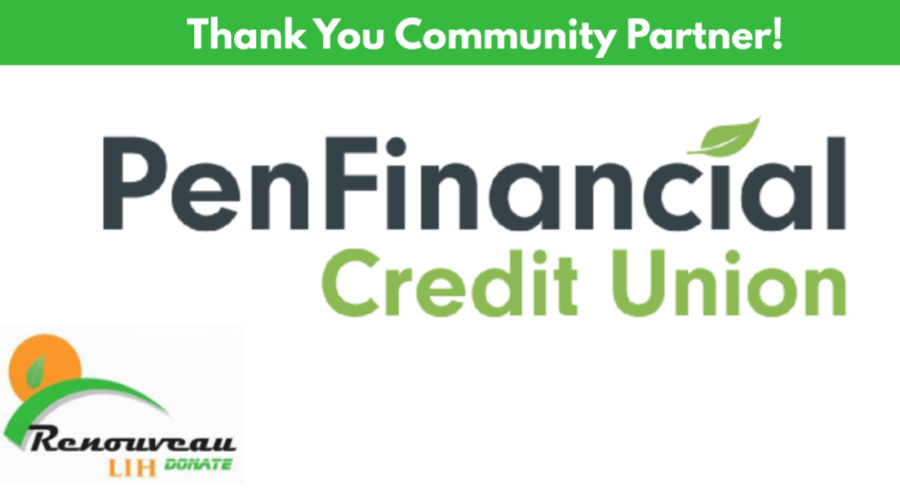 Thank You to Renouveau Community Partner – PenFinancial Credit Union